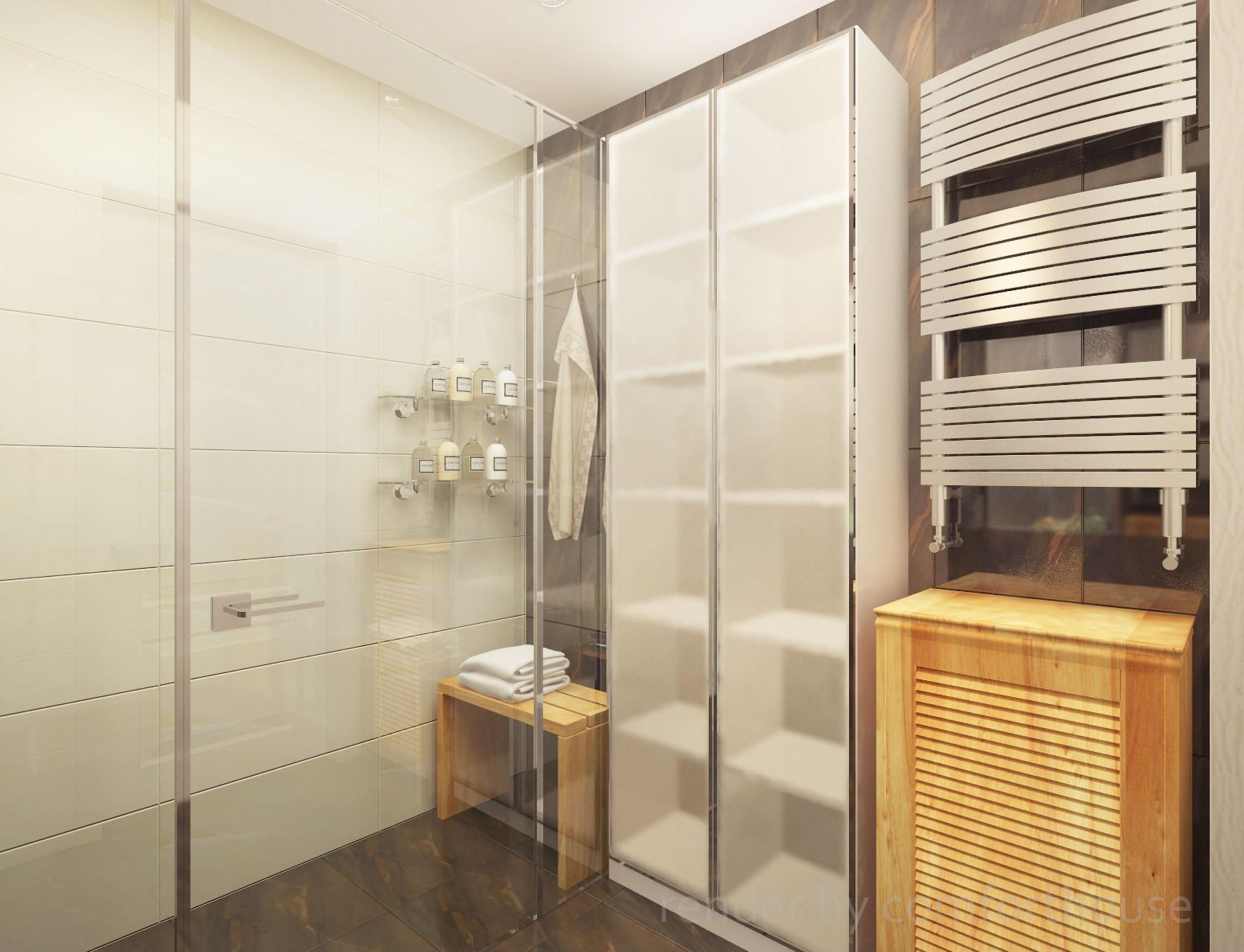 simple interior light bathroom