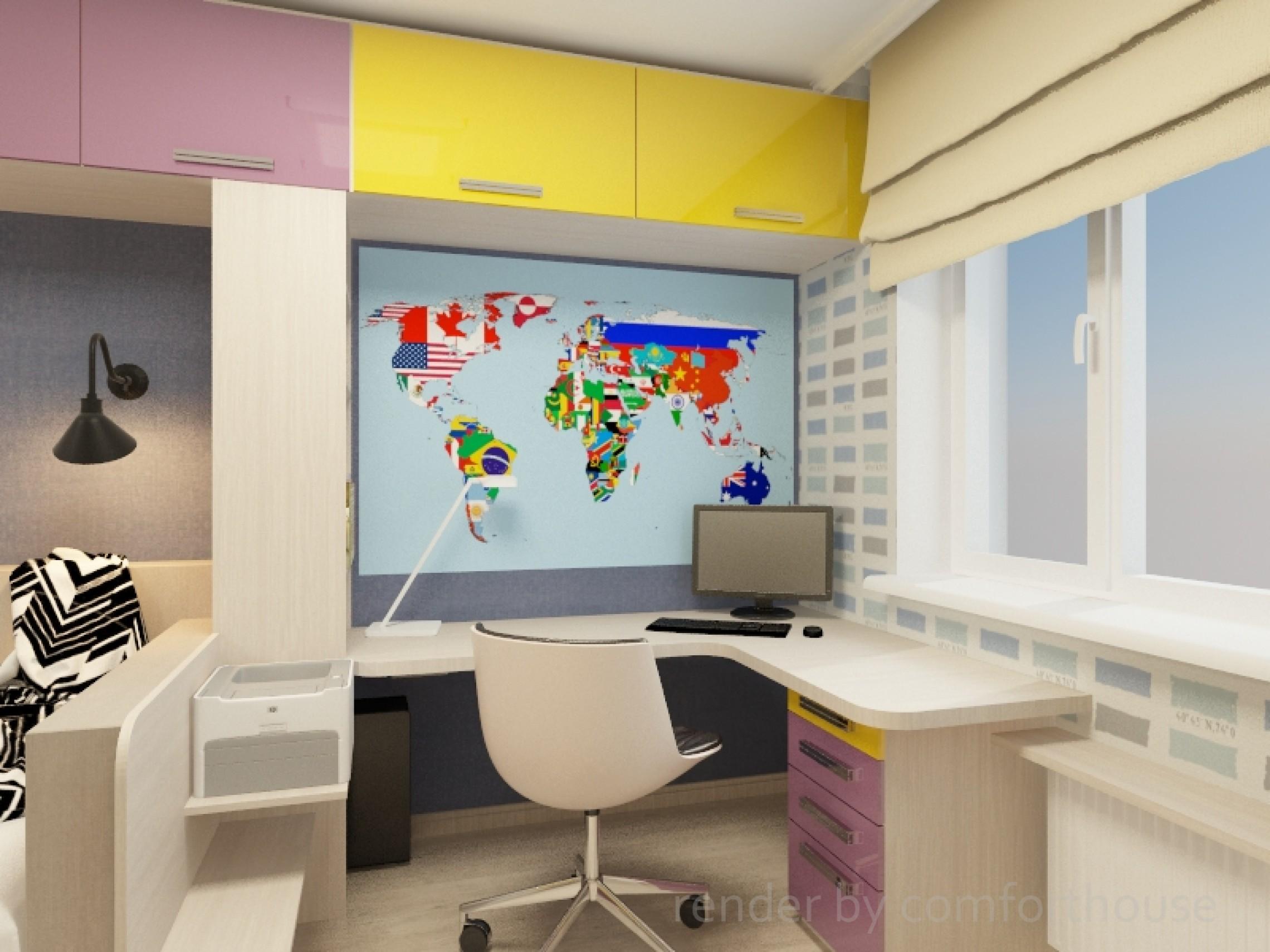 modern interior children's room