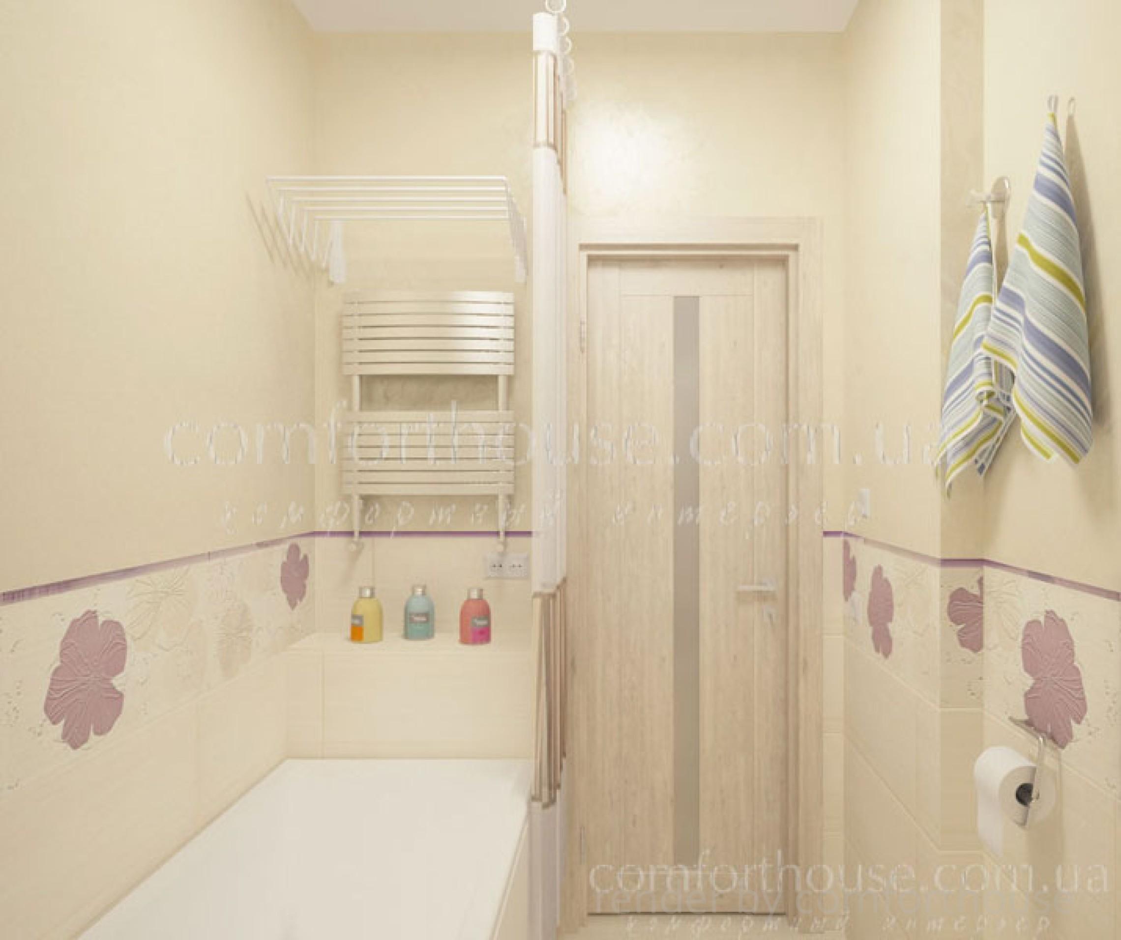 modern interior bathroom