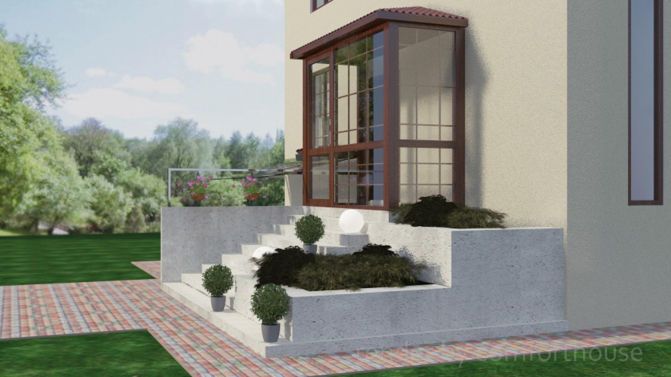 Design entrance area