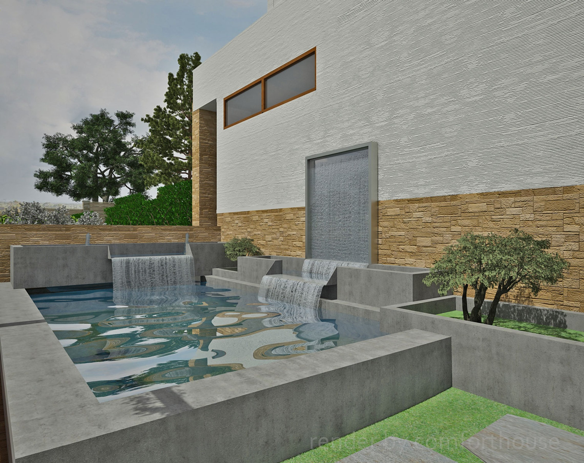 Landscape design visualization