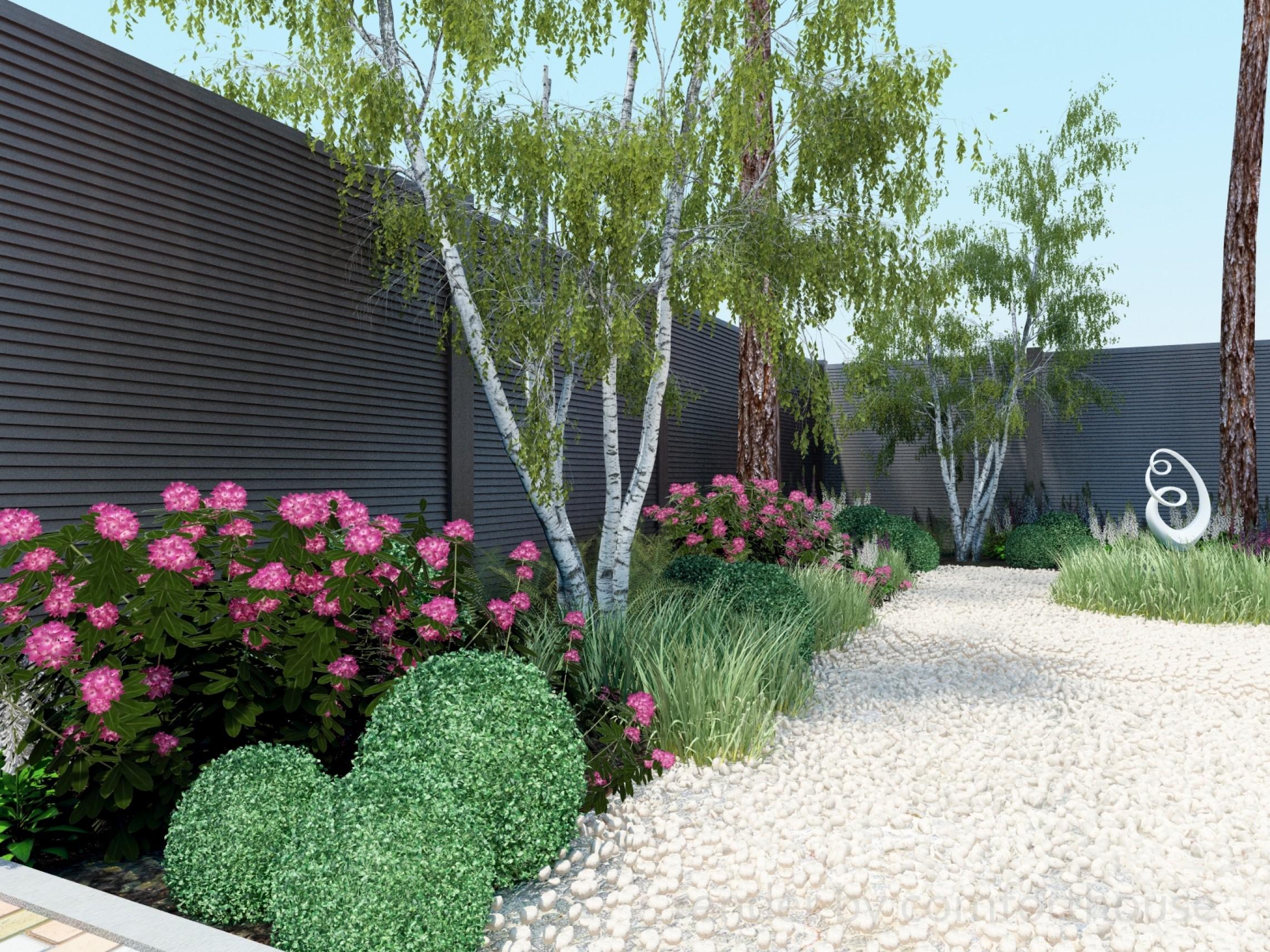 3d render landscaping