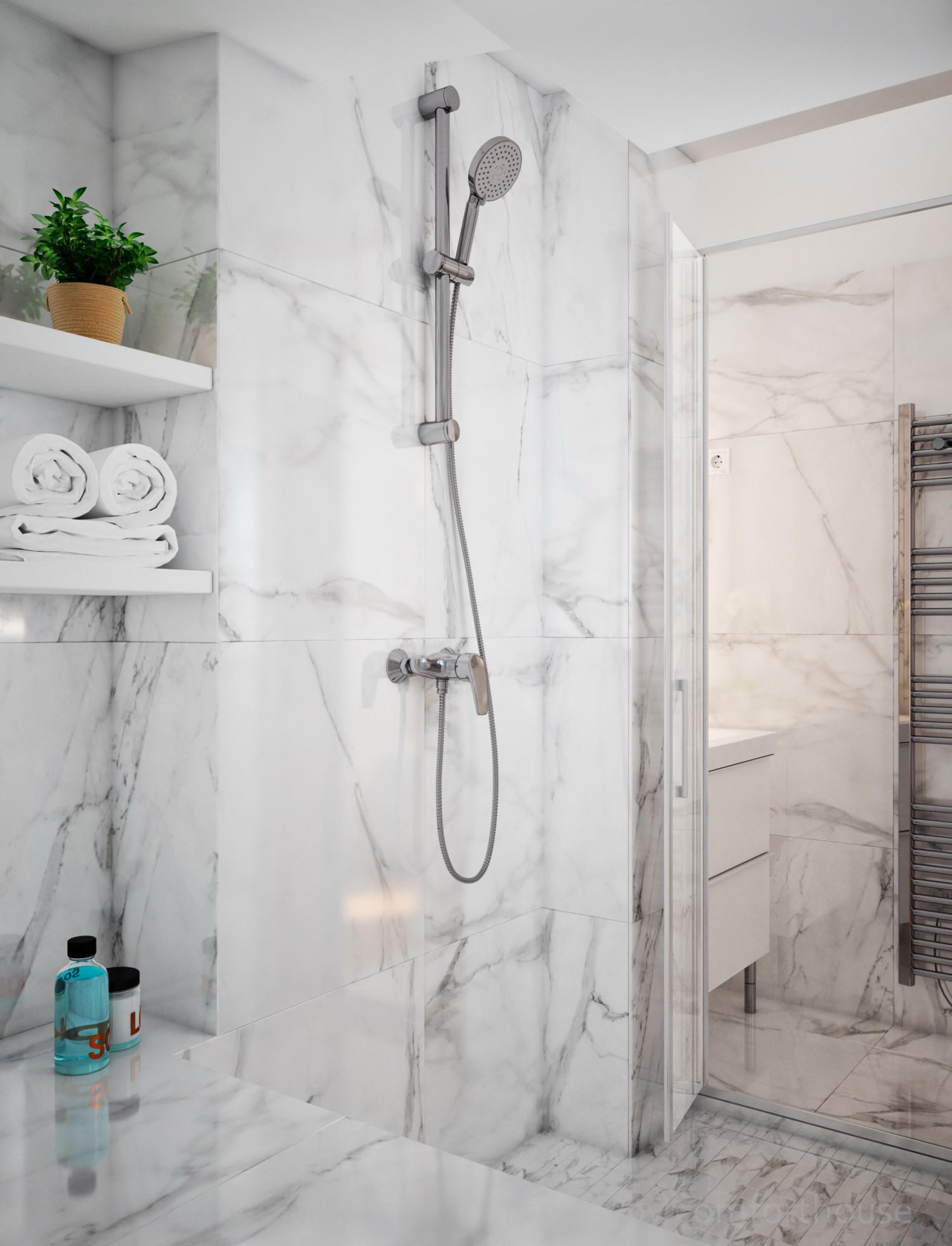 Paris interior bathroom