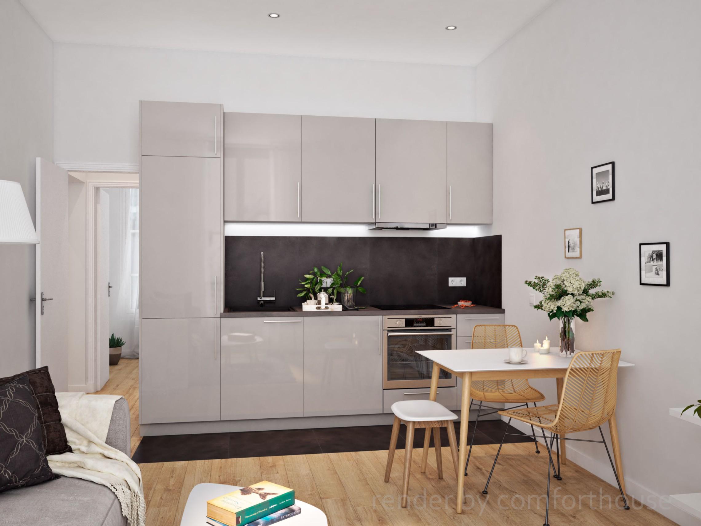 Paris interior kitchen