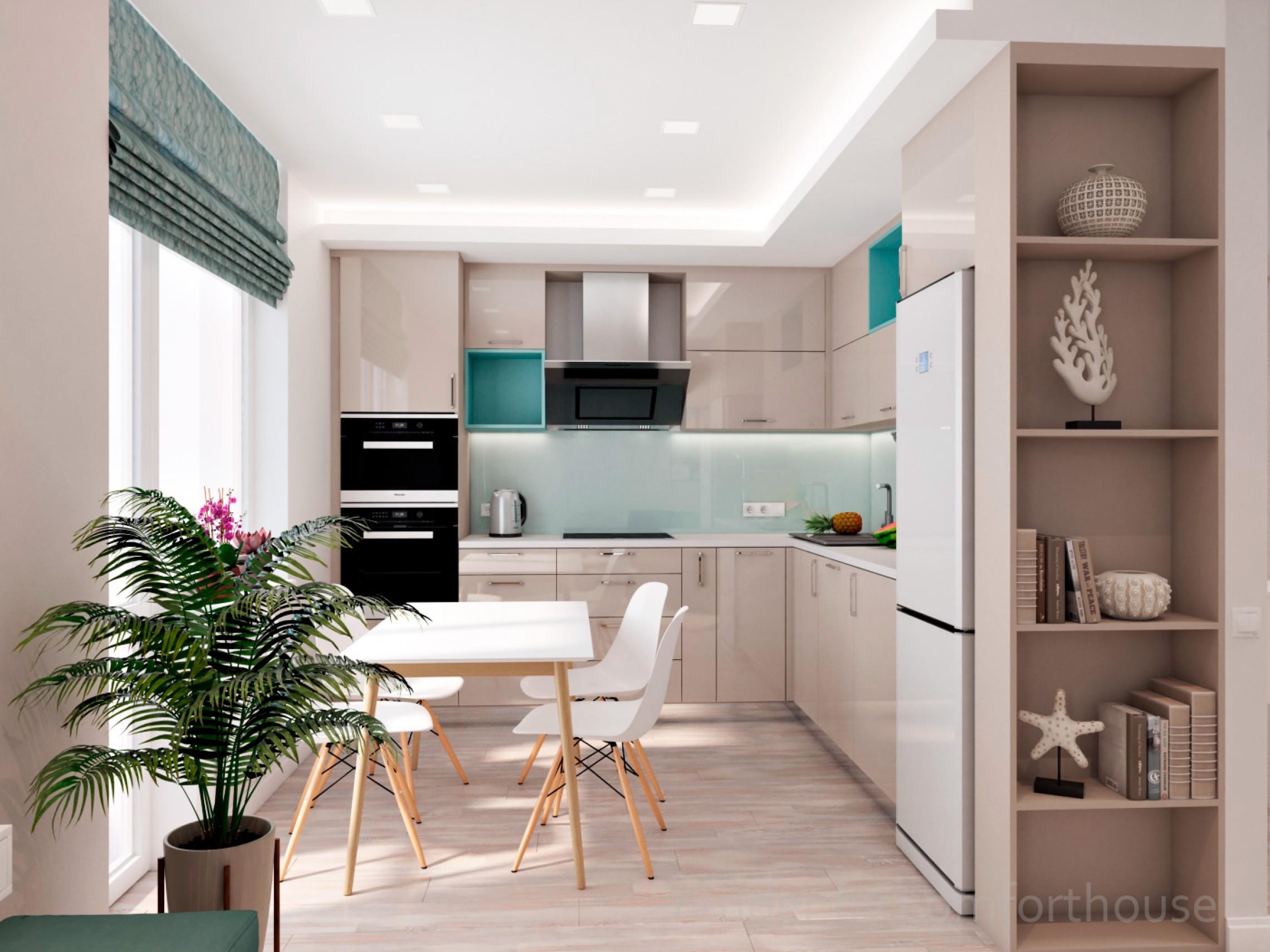 Studio apartment modern