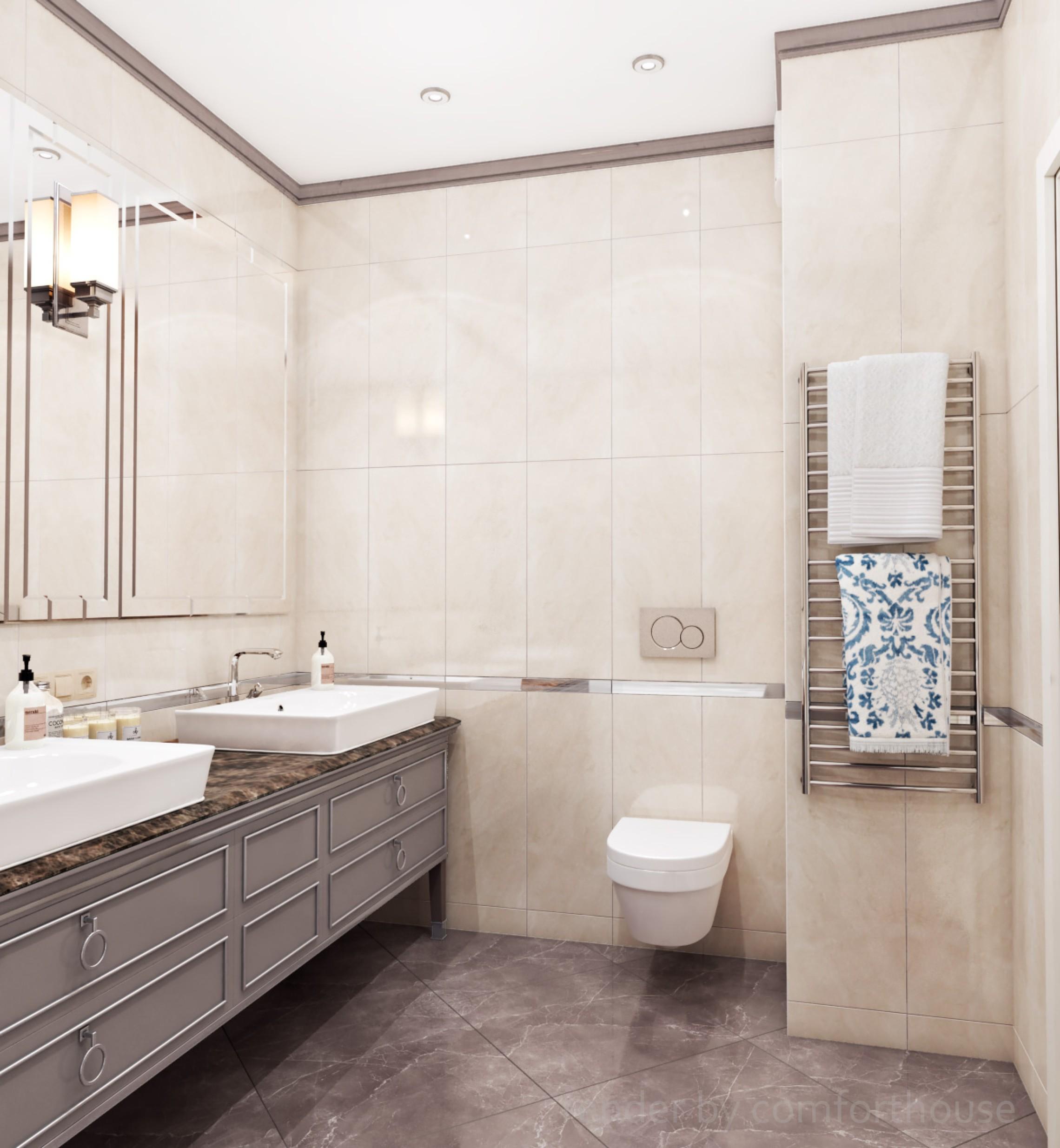 Сlassic style bathroom