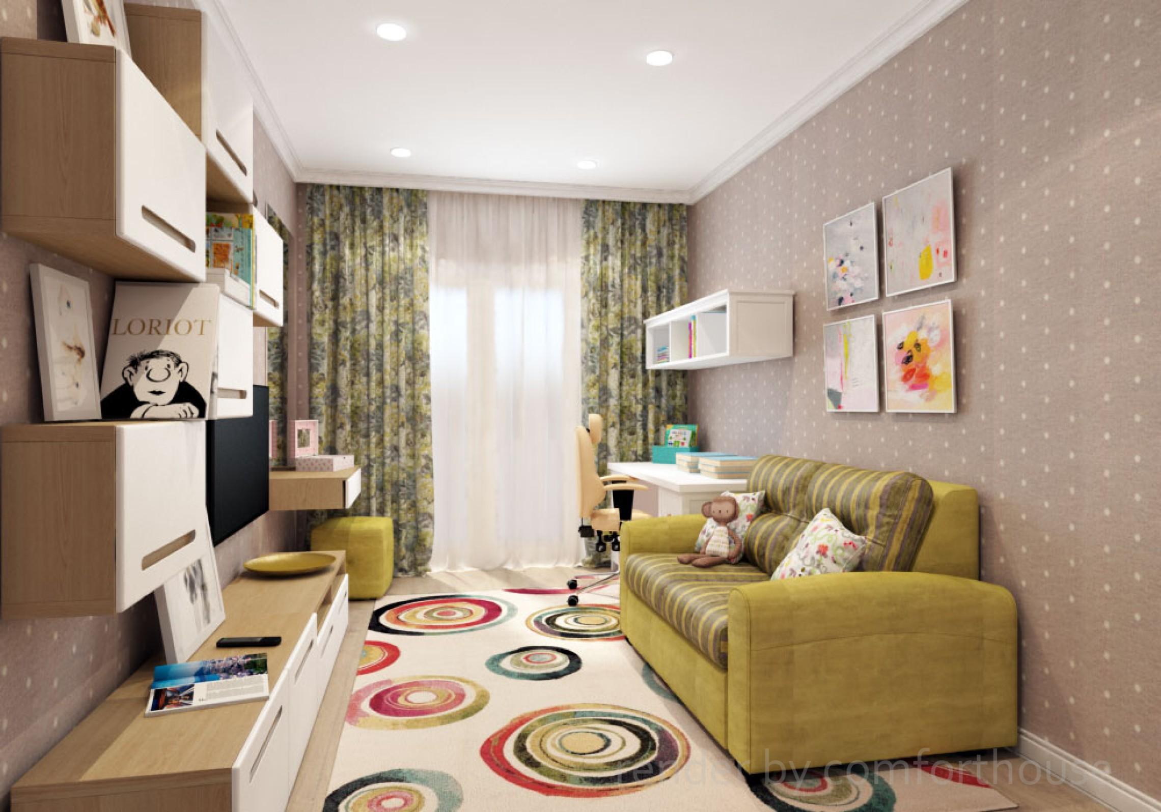 interior design kids room girl