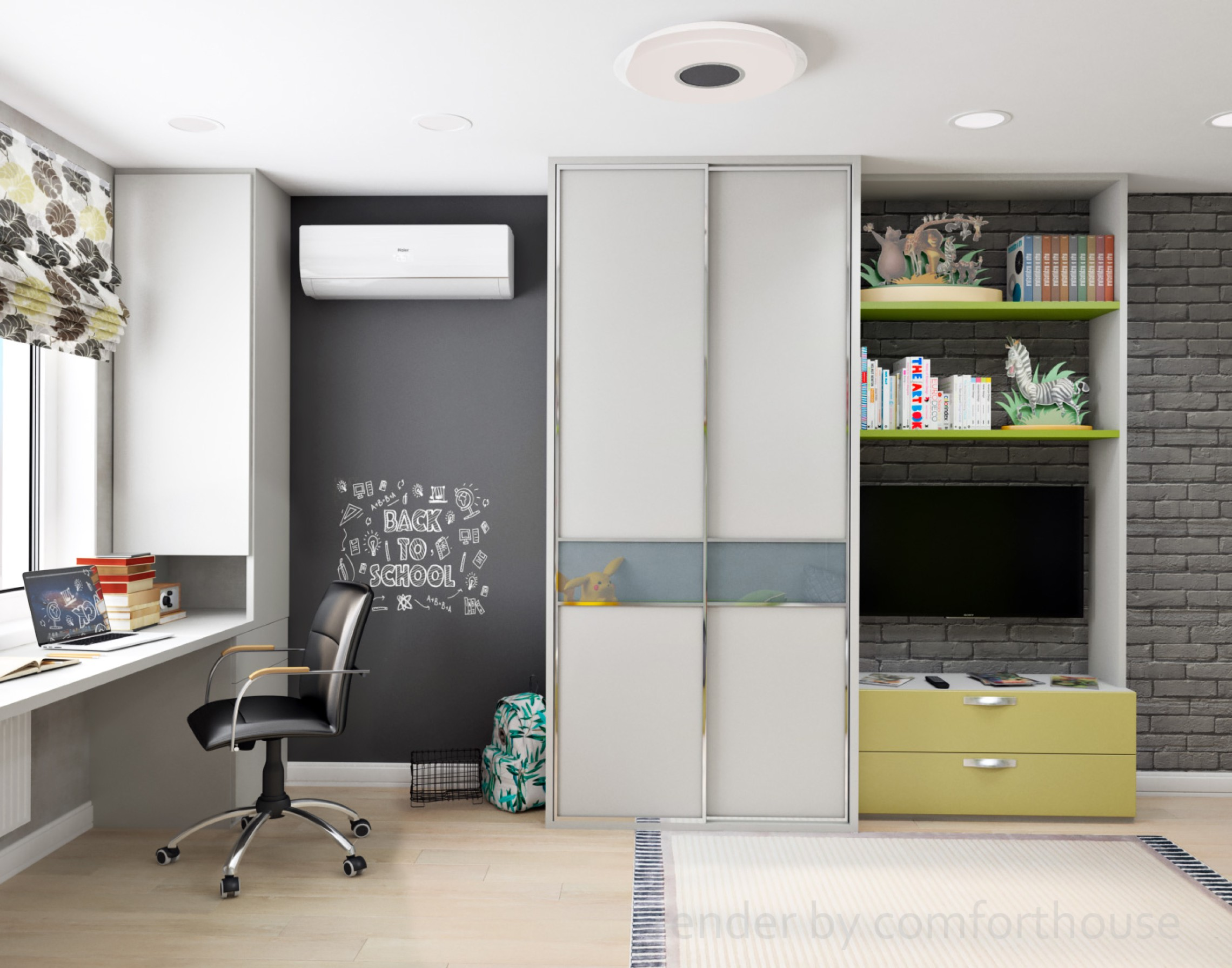 interior design kids room for boys