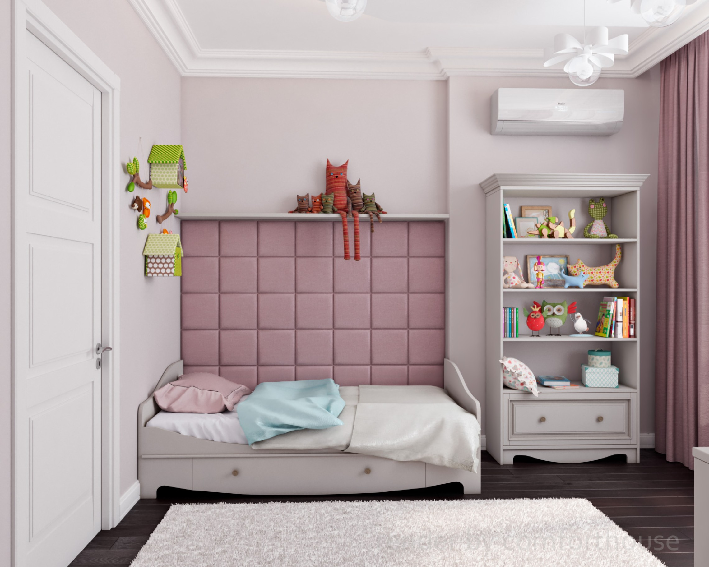 interior design kids room for girl