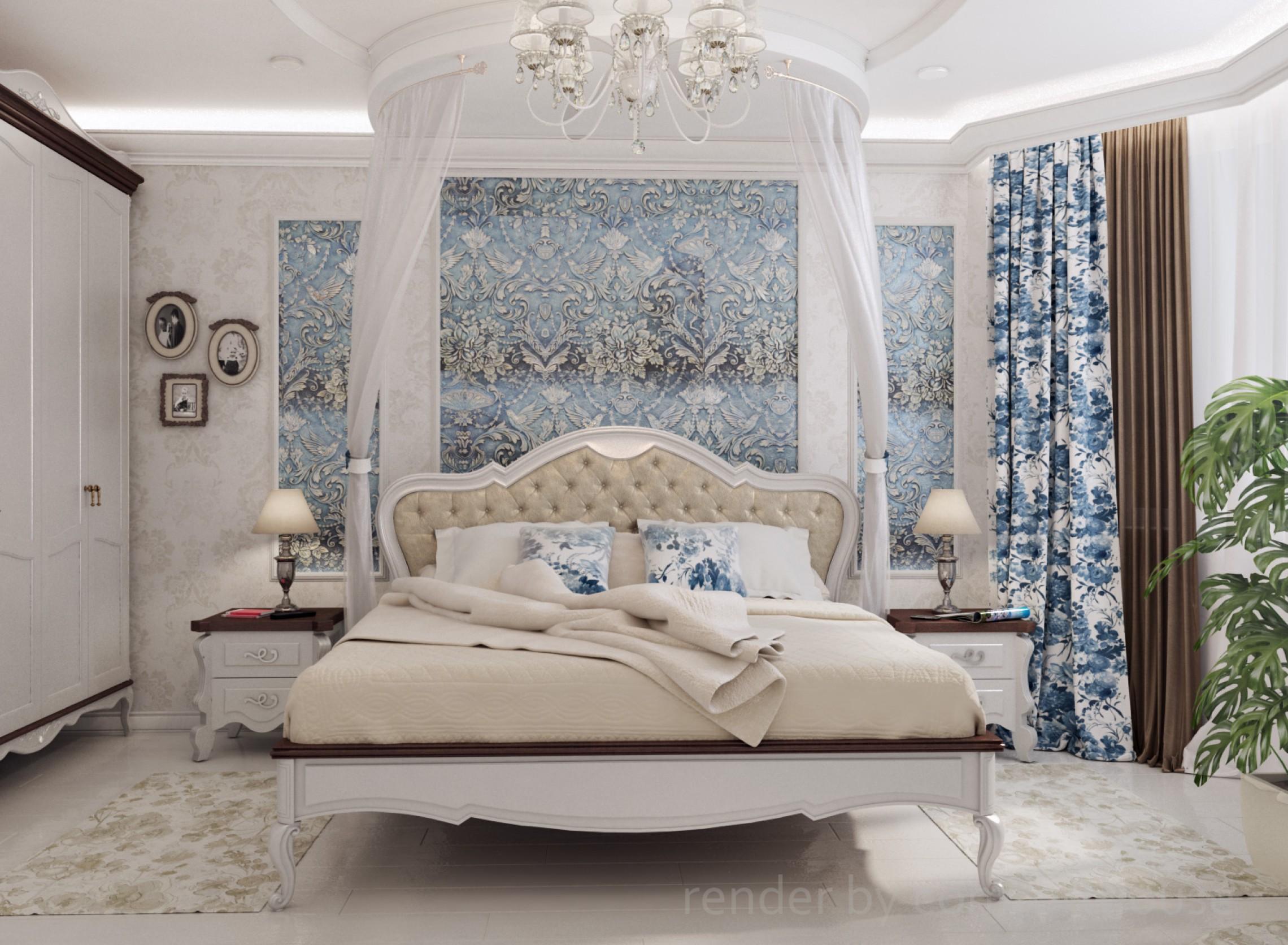 classic style bedroom