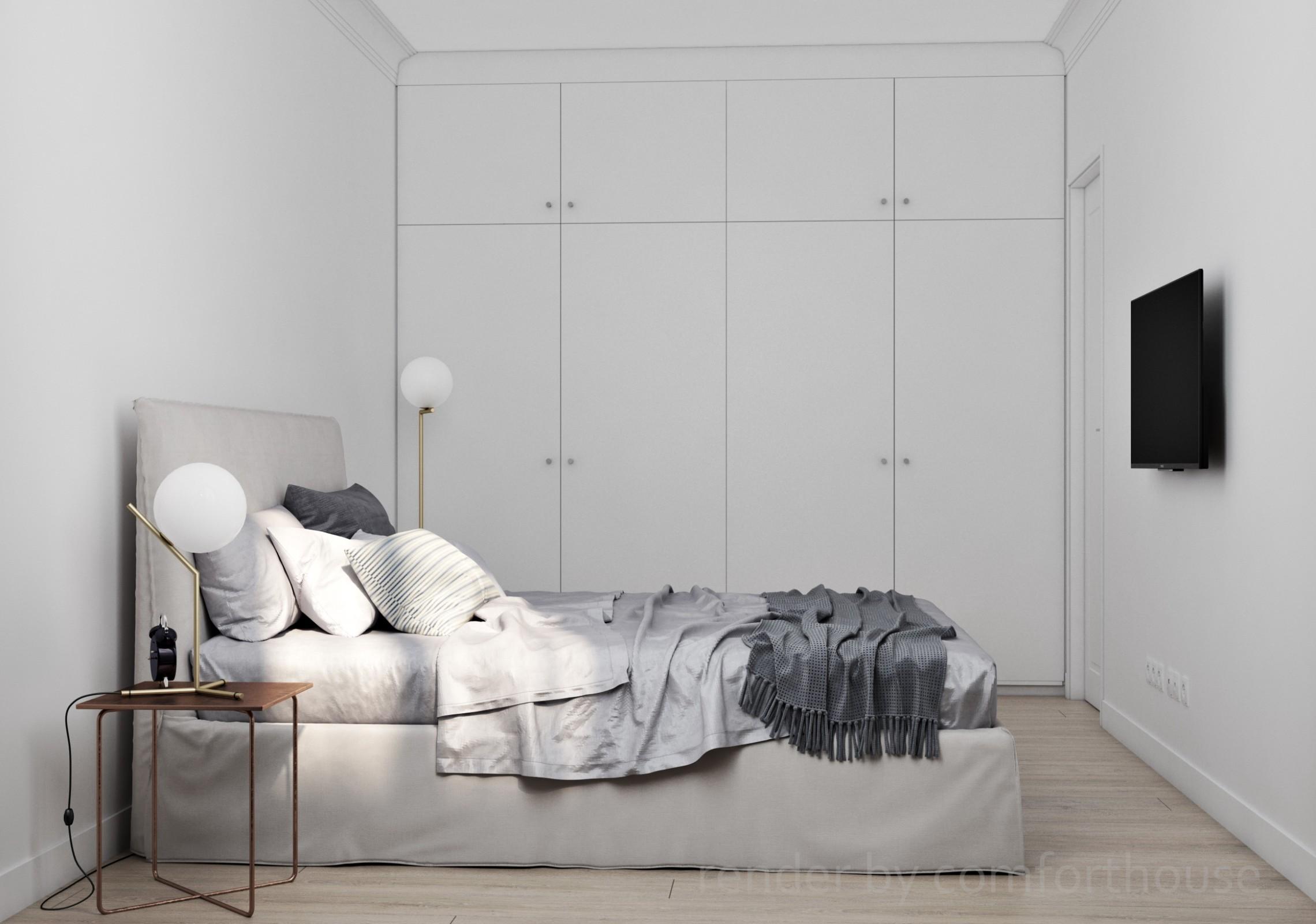 beautiful gray bedroom