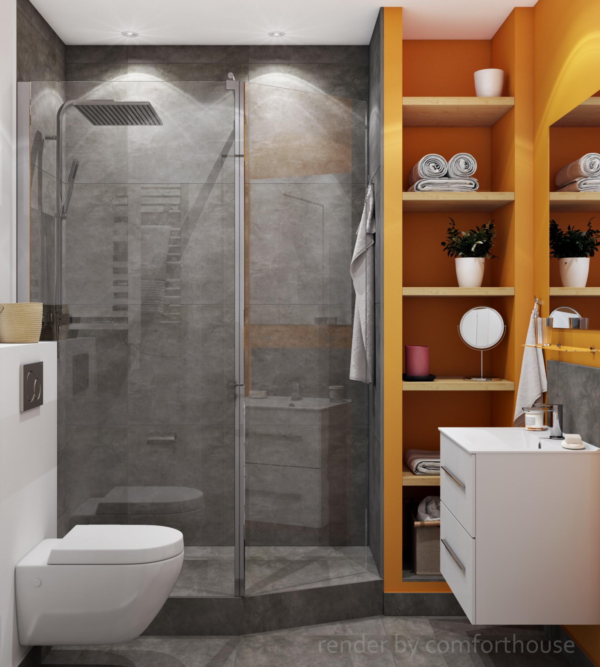 contrast bathroom