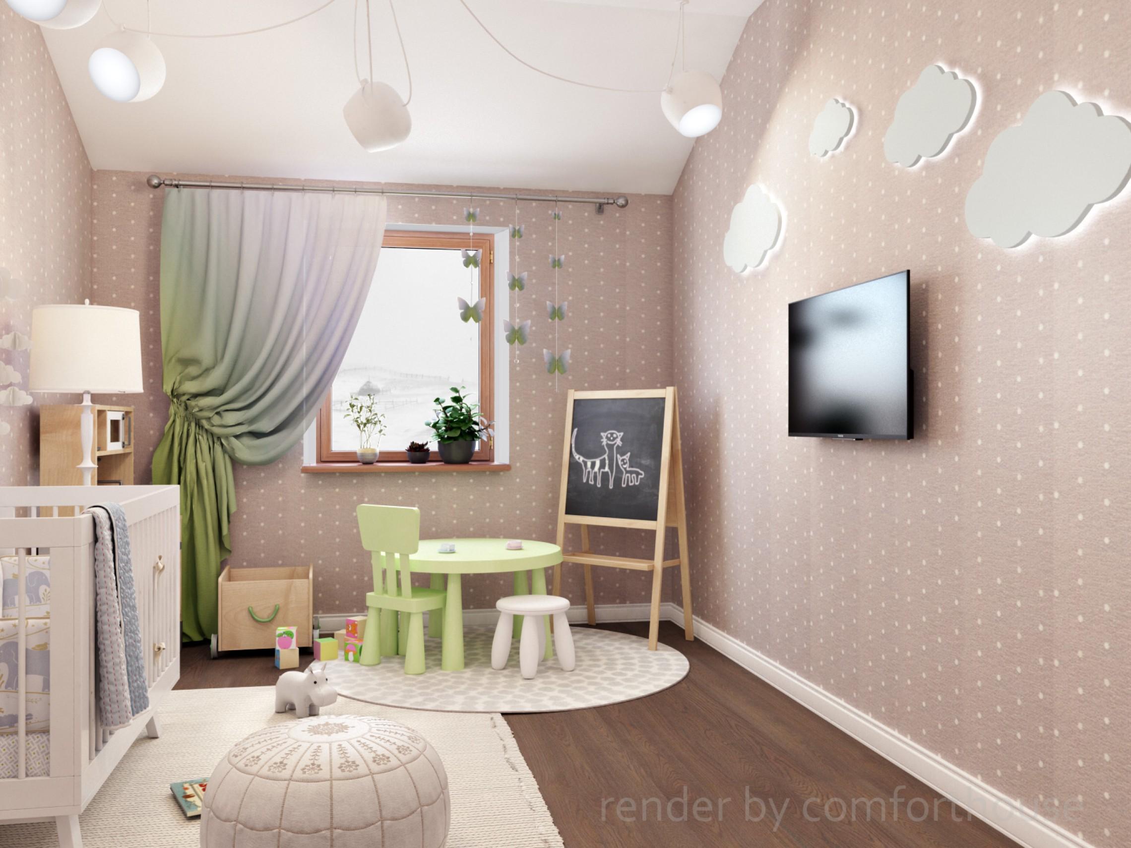 townhouse interior kids room