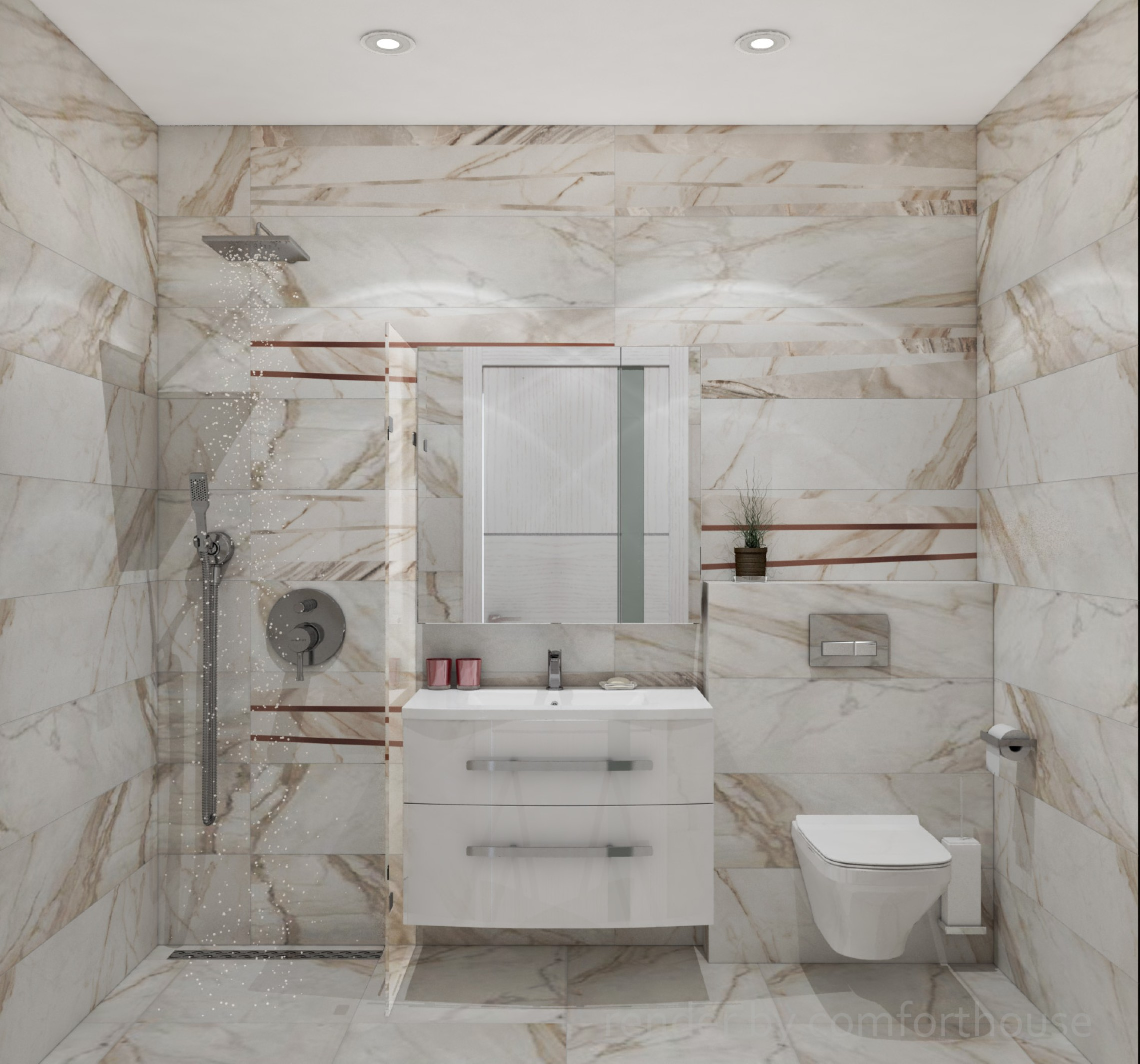 townhouse interior bathroom