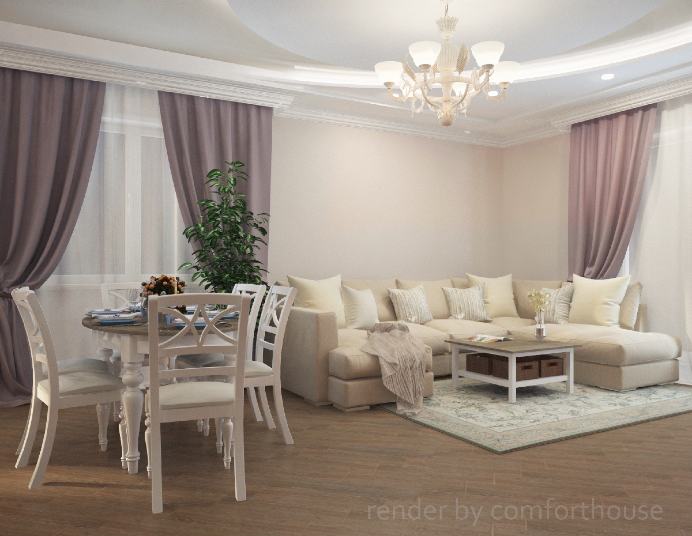 provence living room