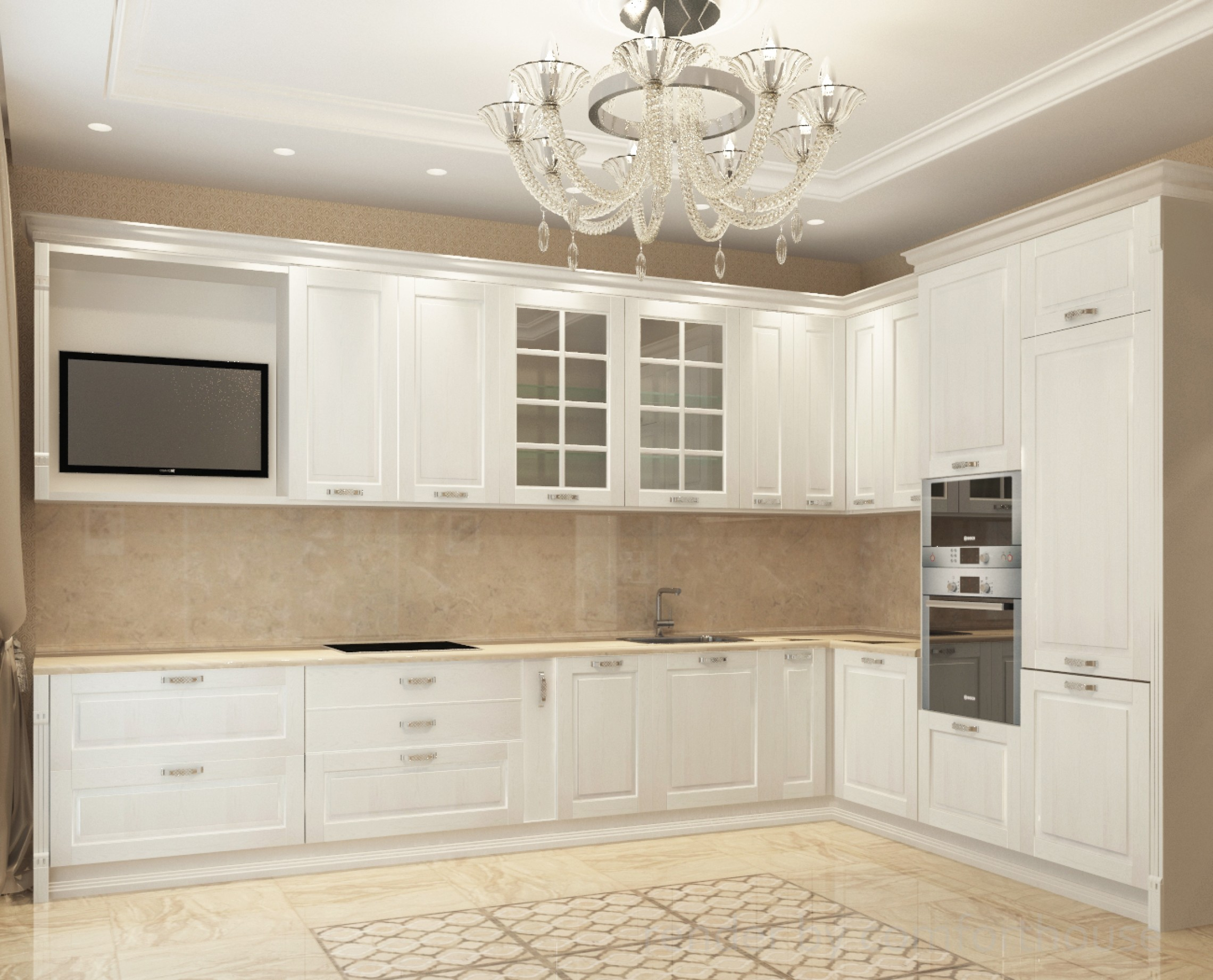 classic interior kitchen