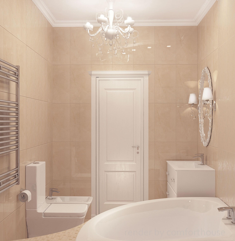 classic interior bathroom