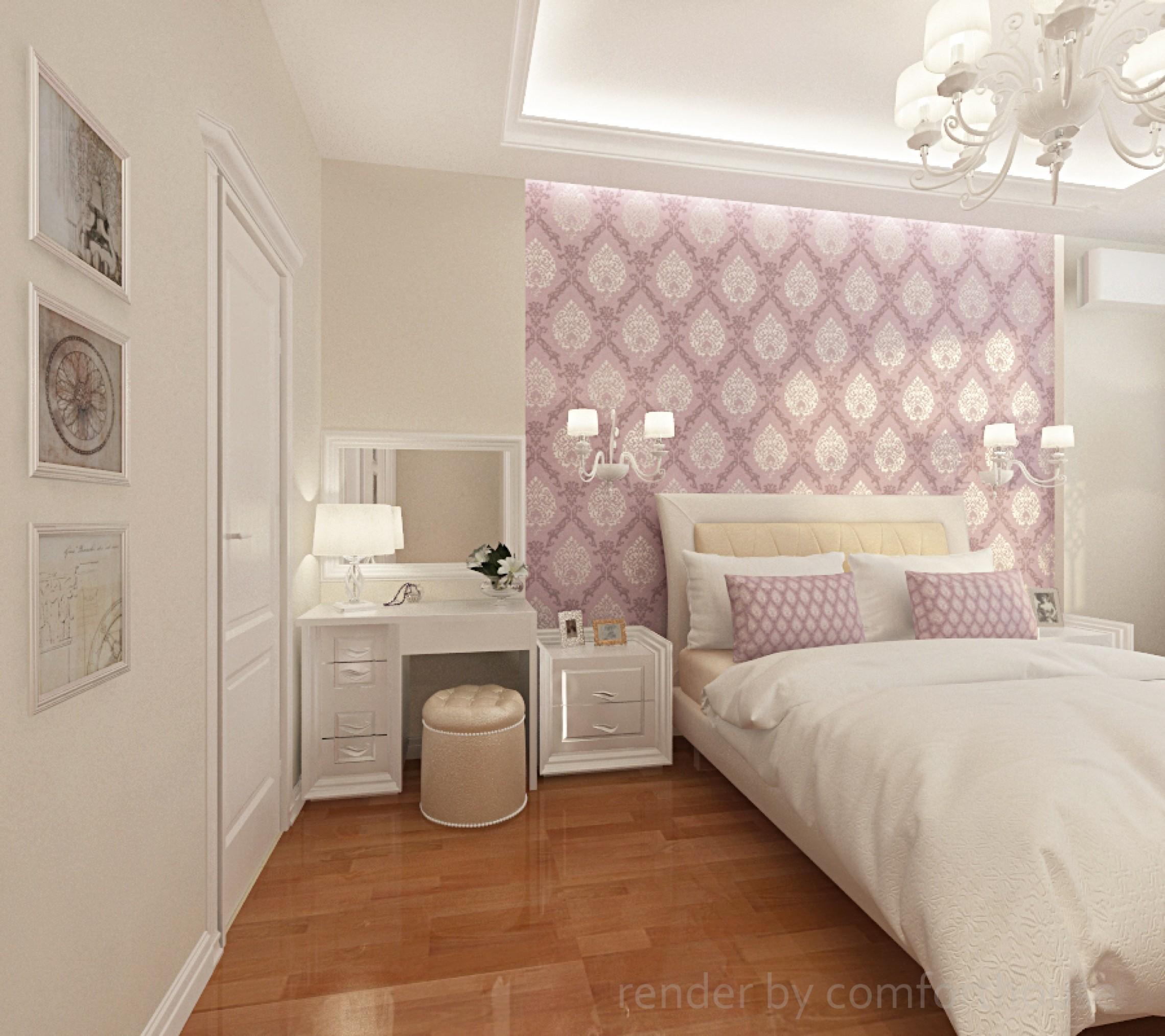 classic interior bedroom